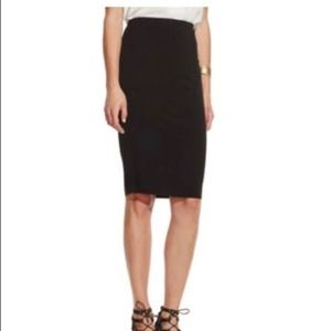 Vince Camuto Knit Pencil Skirt Black NWT